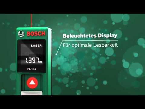Bosch laser entfernungsmesser plr jetzt bei zgonc youtube
