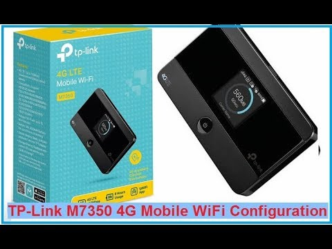 Tp Link M7350 4g Hotspot Wifi Name And Password Change Youtube