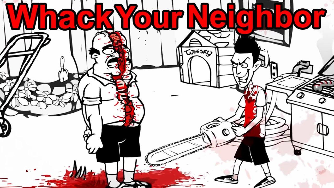 Whack Your Neighbor All Endings Youtube