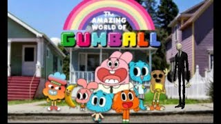 Slender Man in The Amazing World Of Gumball