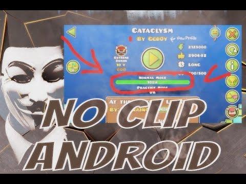 No Clip Android!! | Pasar Cualquier Nivel [Geometry Dash 2.1] PANG