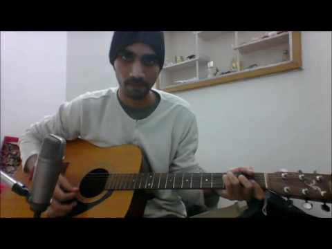 Kya Hua Tera Waada - Old Song - SIMPLE COMPLETE GUITAR COVER CHORDS LESSON