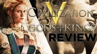 Civilization 5 Gods and Kings REVIEW!