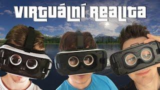 Zkoušíme Virtuální Realitu! | Gear VR /w Baxtrix+Wedry