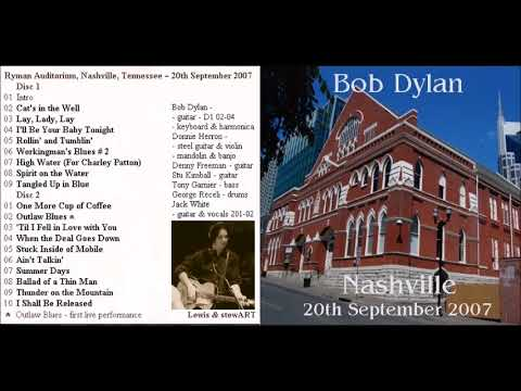 Bob Dylan  and Jack White - One More Cup Of Coffee / Outlaw Blues (Nashville 2007)