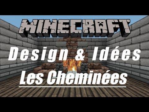 Minecraft - Design & Idées - Les Cheminées
