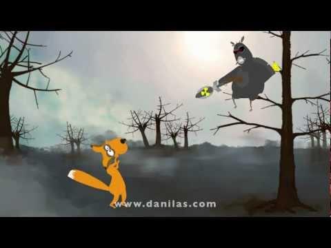 ворона и лисица ужастик по мотивам басни И.А. Крылова