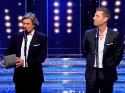 Paul Zerdin and Nigel Havers ITV1 Get Your Act Together
