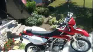 2009 KLX250s review