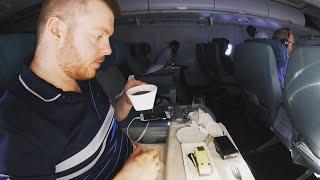 Saudia's SURPRISING Business Class: A Review, A320, Rome to Jeddah, Saudi Arabia