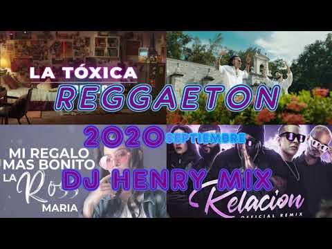 MIX REGGAETON SEPTIEMBRE 2020 / LOS MEJORES ÉXITOS / DJ HENRY MIX