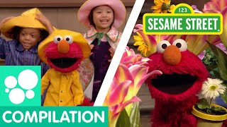 Sesame Street: Spring Songs Compilation | Elmo's Butterfly Friend and more!