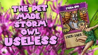 Wizard101 Legendary (60) Storm PvP: The Pet That Made My STORM OWL Do NOTHING