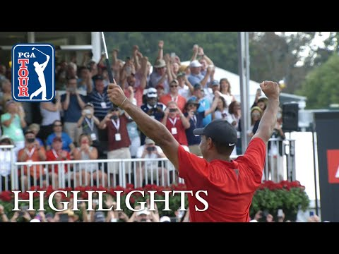 Tiger Woods' highlights   Round 4   TOUR Championship 2018