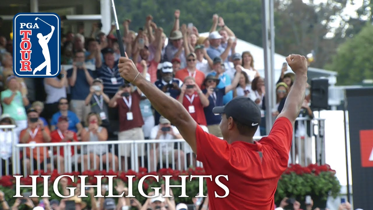 Tiger Woods' highlights | Round 4 | TOUR Championship 2018 - YouTube