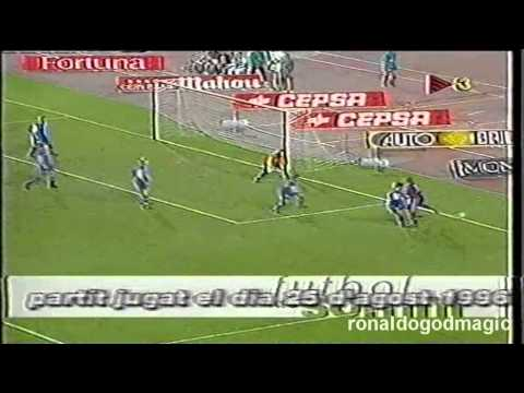 96/97 Spanish super cup  Ronaldo vs Atletico madrid