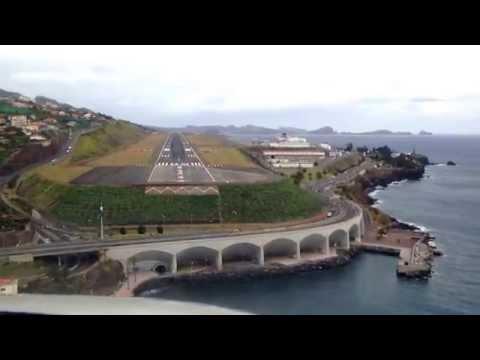 CJ3 Exec Flight - Approach into Madeira (LPMA)