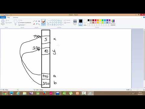 C Programlama Dersleri 33   Fonksiyonlar ve Pointerlar Call By Reference