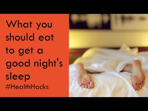 Sydney Health Hacks: What you should eat to get a good night's sleep