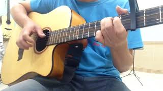 TÁT NƯỚC ĐẦU ĐÌNH (Lynk Lee)- Guitar cover -Phụ đề hợp âm chuẩn