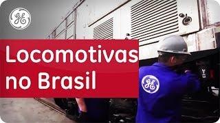 Locomotivas que movem o país - GE do Brasil