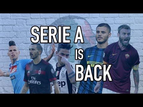 Forza Italian Football LIVE Podcast - Serie A 2017/18 Season Preview