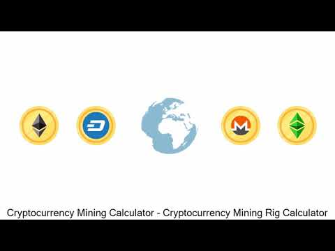 Cryptocurrency Mining Calculator - Cryptocurrency Mining Rig Calculator
