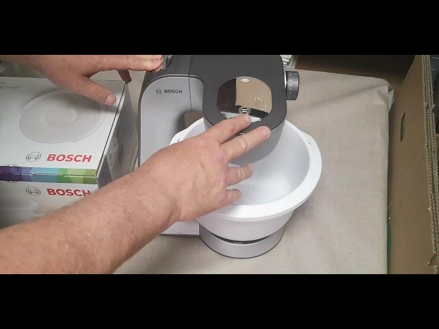 Bosch MUM5 robotgéphez műanyag keverőtál MUZ5KR1