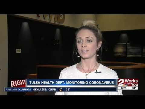 Tulsa Health Dept. Monitoring Coronavirus
