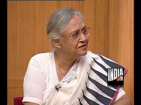 Aap Ki Adalat - Sheila Dikshit, Part 1