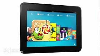 Overview of the Amazon 16GB Kindle Fire HD Tablet - B0085P40WM