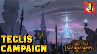 Beat My First Campaign: Teclis Rises! #1 | Total War: Warhammer 2