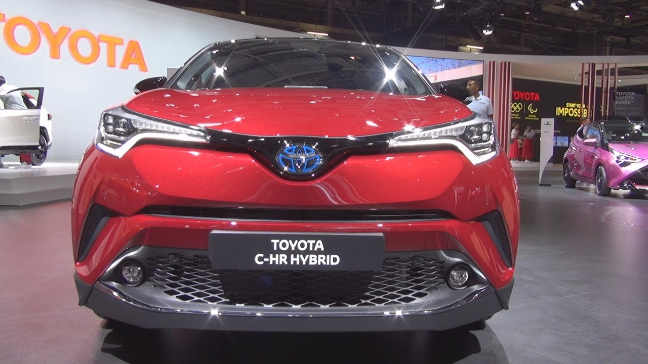 toyota c hr hybrid collection 1 8 e cvt 2019 exterior and interior youtube. Black Bedroom Furniture Sets. Home Design Ideas