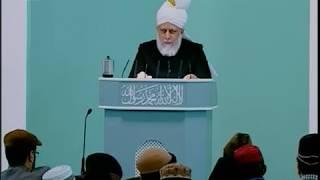 Sindhi Friday Sermon 25 Feb 2011, Prayers for Muslim Ummah & case for Divine Khilafat