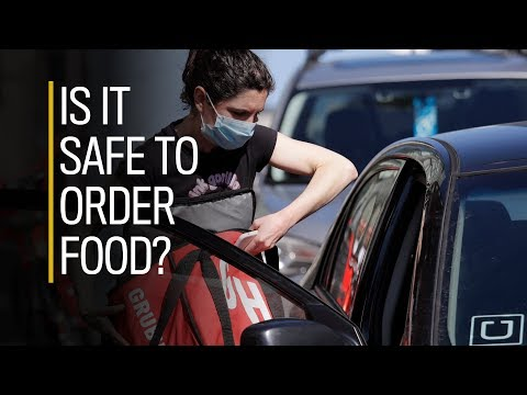 Is it safe to order food during a pandemic?