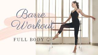 Barre Workout Basic- Full Body