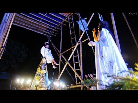 """Easter Sunday """"Salubong"""" 2016 - Lumban, Laguna"""