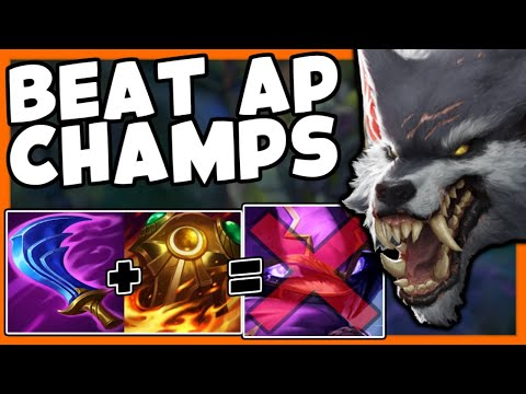 WARWICK TOP HOW TO COUNTER AP CHAMPS - League of Legends