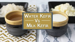 Water Kefir Vs Milk Kefir, Using Kefir Grains Not Powders