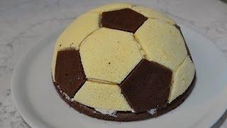Fußballkuchen zur Weltmeisterschaft (WM)
