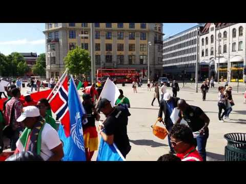 SEE WHAT WE DID FOR BIAFRA  In Oslo City Center Norway