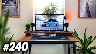 Room Tour Project 240 - Clean & Minimal Setups!