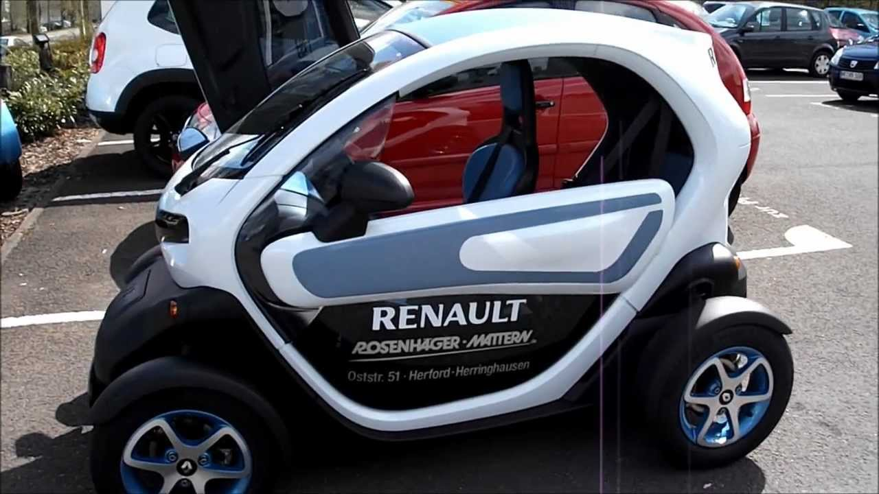 renault twizy auto video youtube. Black Bedroom Furniture Sets. Home Design Ideas