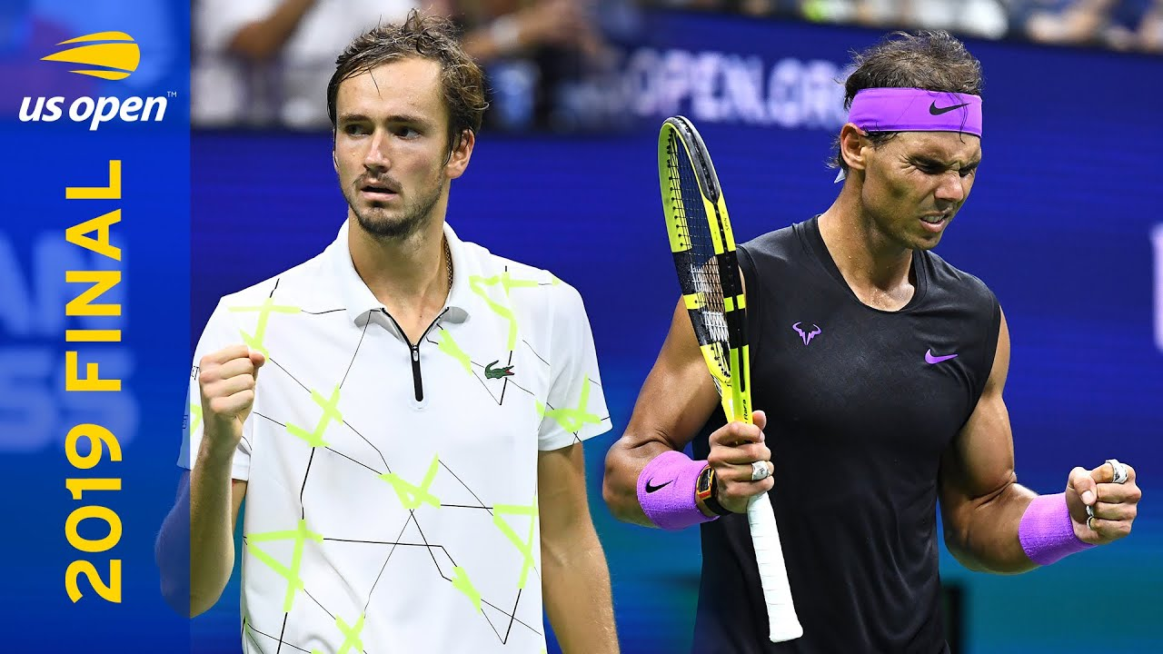 Daniil Medvedev Vs Rafael Nadal Full Match Us Open 2019 Final Youtube