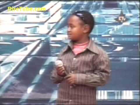 Ethiopian Idol 2009 Mekele - Amazing and Funy kid