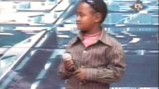 vuclip Ethiopian Idol 2009 Mekele - Amazing and Funy kid