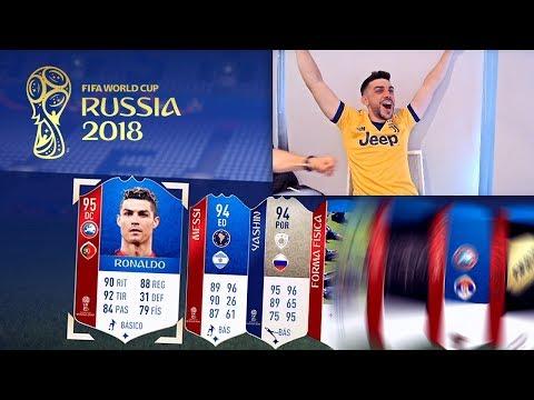 RONALDO Y MESSI EN EL MISMO PACK OPENING !! FIFA WORLD CUP