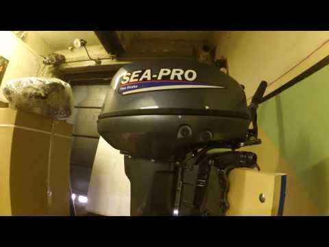 лодочный мотор sea-pro oth 9.9 s купить