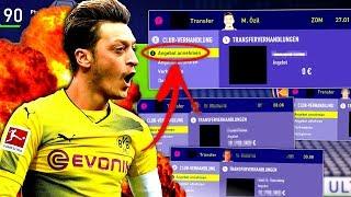 FIFA 18 : JEDES EINZELNE TRANSFERANGEBOT MIT ARSENAL ANNEHMEN !!! 🔥😰 Arsenal Karriere Challenge