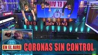 Javier Coronas toma el control de En el aire